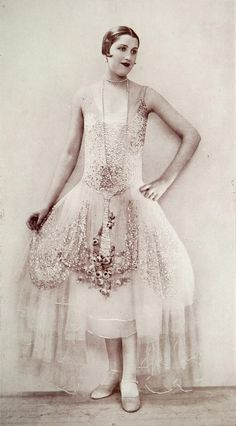 Paris Fashion - 1926 - Dress 'Aurore' by Boue Soeurs. I love the designer or the designers. The sisters pair are amazing.