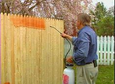How to Seal and Stain Outside Wood • Ron Hazelton Online • DIY Ideas & Projects