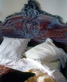 Donu0027t Know About A Mirrored Headboard, But I Like Different | Sweet Dreams  | Pinterest | Mirror Mirror, Carved Wood And Bedrooms