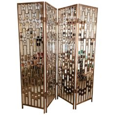 Antique Furniture In Modern Home Mirror 48 Best Ideas Mirror Room Divider, Folding Screen Room Divider, Partition Screen, Room Screen, Room Dividers, Farmhouse Living Room Furniture, Painted Bedroom Furniture, Antique Furniture, Black Distressed Furniture