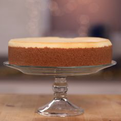 Bring your appetite; it's nearly impossible to stop at one sliver of this decadent New York-style cheesecake, modeled after the Cheesecake Factory classic.