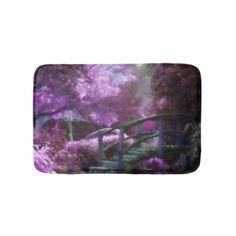 #Purple Zen Bath Mat - #giftideas #teens #giftidea #gifts #gift #teengifts