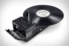 Ion USB Turntable & Cassette Player | Uncrate