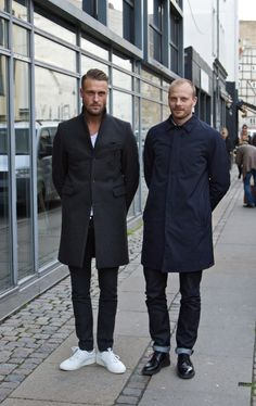 Estilo Masculino no Mundo: Copenhague