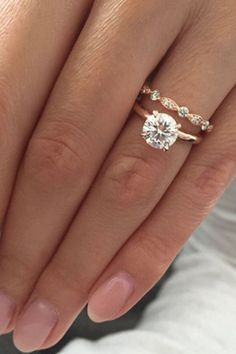 Simple engagement rings that every women wants 14