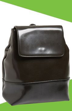 Sleek, sophisticated and sustainably produced backpack.