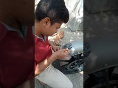 Customer video: Eagle RE sticker being applied on royal enfield gunmeta... Star Stickers, Custom Stickers, Enfield Bike, Enfield Classic, Royal Enfield, Eagle, How To Apply, Grey, Personalized Stickers