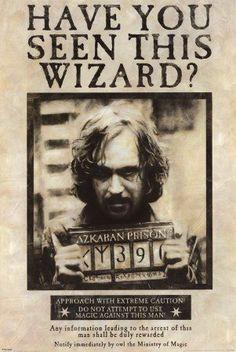 Harry Potter and the Prisoner of Azkaban! Sirius Black