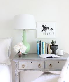 Add the warmth of a tropical breeze in your bedroom with a wall art print from Minted. Image courtesy of @saramueller