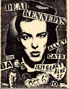 Dead Kennedys: Biafra for Mayor,   1839 Geary, San Francisco, 1980