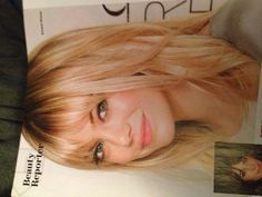 looove her hair but I never look good with bangs