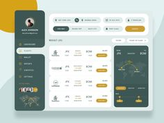 We are currently exploring flight web dashboard... Exploring colors and ui for flight listing design... Hope you like this. Feel free to share your views on this. Have an awesome idea? We will p...