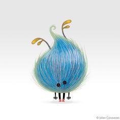 Monsters by julien canavezes, via Behance join us http://pinterest.com/koztar