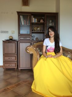 This Summer Yellow Skirt is perfect for any occasion. In the color psychology the - Wedding Yellow Formal Dress, Yellow Maxi Skirts, Wedding Skirt, Boho Wedding, Wedding Summer, Wedding Ideas, Grunge, Evening Skirts, Ribbon Skirts