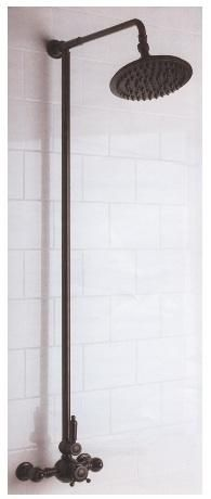 Above: Mico Exposed Thermostatic Shower Set 2; $2,011 at Quality Bath.