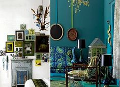 peacock themed home decor | Scandinavian Chic: Building My Dream Home (#4) Bedroom Inspiration