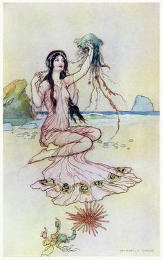 What form she pleased each thing would take That e'er she did behold Warwick Goble, from The book of fairy poetry, by Dora Owen, London, New York, 1920.