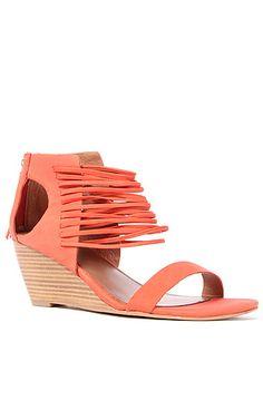The Bryn Shoe in Papaya