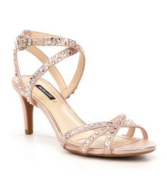 Rose Gold:Alex Marie Kandis Dress Sandals