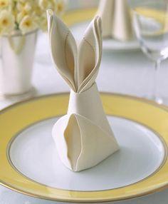 Fun napkin folding!