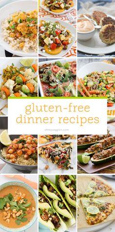 30 Gluten-Free Vegetarian Dinner Recipes from Oh My Veggies