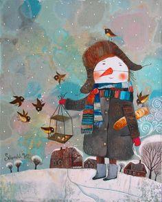 Анна Силивончик.  Очень нравятся картины.