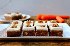 Raw Carrot Cake Slices by Michelle Hunt