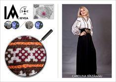 Romanian shirt hand-made by Caro Birzaianu for the Ia Aievea project. *** Camasa cusuta de Caro Birzaianu pentru proiectul Ia Aievea dupa un izvod de la Muzeul National al Taranului Roman. Roman