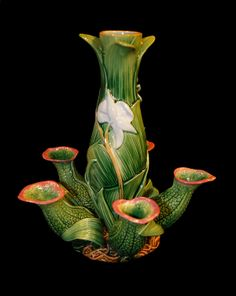 George Jones Majolica Vase
