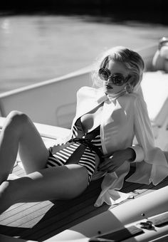 nautical | boat | stripes | sailor | fashion editorial | fashion | style | photo shoot | glamour