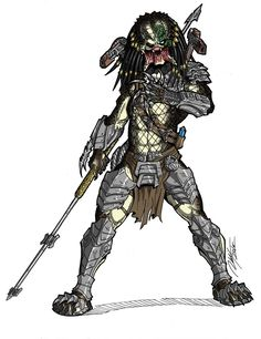 COMMISSION - Wolf Predator Unmasked Colors by Ronniesolano.deviantart.com on @DeviantArt