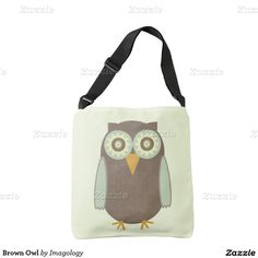 Keep your bag close with one of our comfortable Owl crossbody bags. Cartoon Owl Images, Owl Cartoon, Crossbody Bag, Tote Bag, Owls, Brown, Carry Bag, Tote Bags, Shoulder Bag