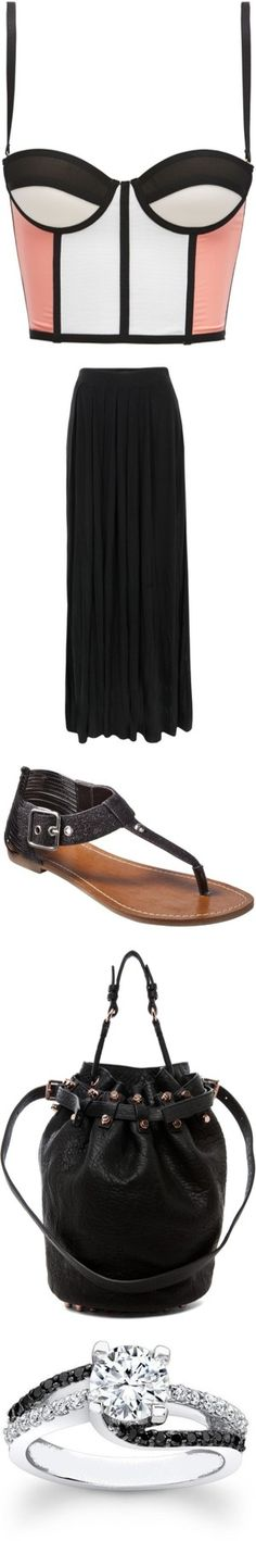 """""""Gorgeous Look #27"""" by sarratori ❤ liked on Polyvore"""