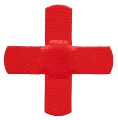 cross, 2 bandaids, easy to add to lesson page, etc...