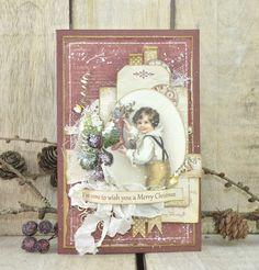 Cathrines hjerte: Christmas card #DT Pion