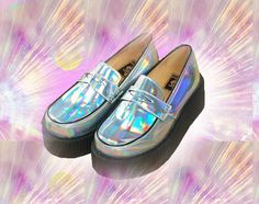 Happy shopping  Color: Sliver Shoes size: 35-40  Inner: PU leather platform high:4.5cm  It is very Trendy for mix and match !!