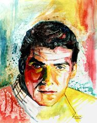 """Van Williams"" - mixed media - 28x40 inches - Original art by Marcelo Neira"