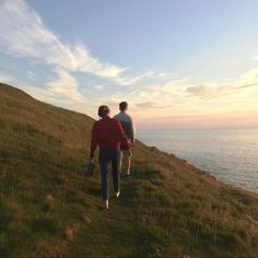 Imagen de couple, nature, and sky