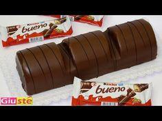 Gâteau façon kinder Bueno géant - YouTube