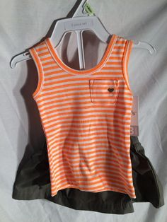 Carters 2 Piece Outfit 12 Months NWT 100% Cotton #Carters