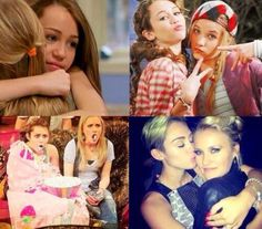 miley cyrus and emily osment since hannah montana and now