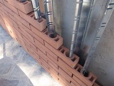 Find out all photos and details of THE BRICK OF THIRD. Browse the complete collection of pictures and design drawings Cladding Design, Brick Cladding, Brick Facade, Facade Design, Brick Architecture, Architecture Details, Brick Works, Brick Art, Brick Masonry