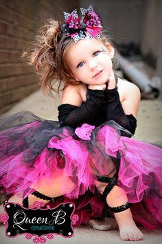 The Punk Diva- Punk Rock Inspired Tutu Dress (Sizes Newborn or 0-3  sc 1 st  Pinterest & 218 best Punk kids images on Pinterest | Kid outfits Little girl ...