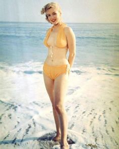 "masteringmarilyn: "" The bikini sitting by Anthony Beauchamp, 1951. """