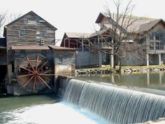 Old Mill Restaurant, Pigeon Forge, TN. A must stop.