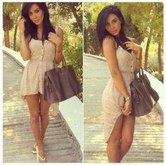 Dress & purse