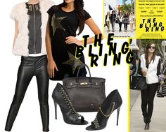 """Emma Watson style in to the movie """"The Bling Ring"""". http://www.stellajuno.com/index.php/en/blog-item/item/115-get-the-lookthe-bling-ring-special-emma-watson/115-get-the-lookthe-bling-ring-special-emma-watson"""
