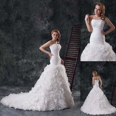 Wholesale Ball Gown Wedding Dress - Buy 2015 Cheap Fashion Wedding Dresses Ball Gown Contoured Bride Dress Lace Up Wedding Gowns Chapel Train, $127.23 | DHgate.com
