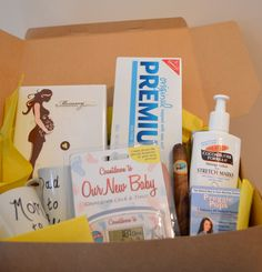 Pregnancy Box Expecting Parents Gift Box by InspiredCelebrations, $75.00