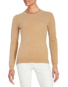 Women | Sweaters | Crew Neck Cashmere Sweater | Hudson's Bay Cashmere Sweaters, Sweaters For Women, Crew Neck, Pullover, Clothes For Women, Mens Tops, Fashion, Ladies Clothes, Fashion Ideas